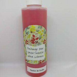Recharge pour savon-mousse 250ml Panier de fruits