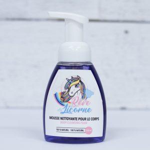 Mousse nettoyante pour le corps Rêve de licorne 250ml