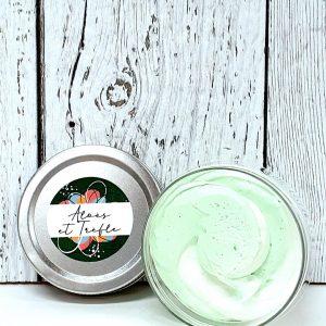 Crème fouettée nettoyante 80gr Aloès-trèfle
