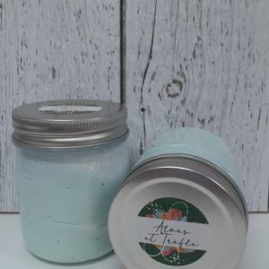 Crème fouettée nettoyante 2 en 1 – Aloès et trèfle 150g