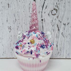 Savon cupcake Licorne rose – Panier de fruits