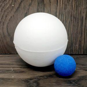 Bombe de bain – Dévoilement du sexe de bébé (garçon)