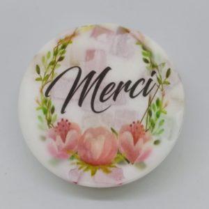 Savon personnalisé MERCI – Fragrance fruitée