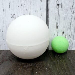 Bombe de bain surprise – vert (Poire) 140g