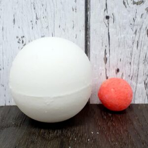 Bombe de bain surprise – orange (Canneberge) 140g
