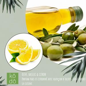 Olive, basilic et citron – 50hrs