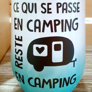 Ce qui se passe au camping reste au camping – turquoise