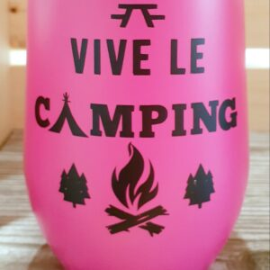 Vive le camping – rose